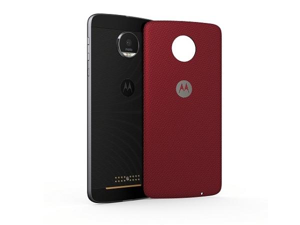 [Moto Z Back Cover, Crimson nylon] | LenovoOnline.bg