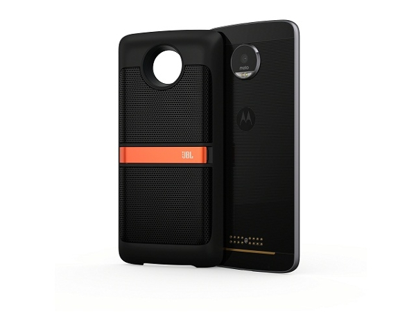 [Смартфон Moto Z, Black + JBL Soundboost Mod] | LenovoOnline.bg