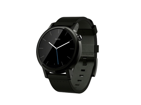 [Moto 360 2nd, 42mm Black Leather]   LenovoOnline.bg
