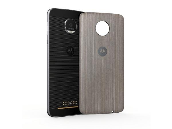 [Moto Z Back Cover, Silver oak]   LenovoOnline.bg